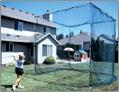 ソフトボールのバッティング練習